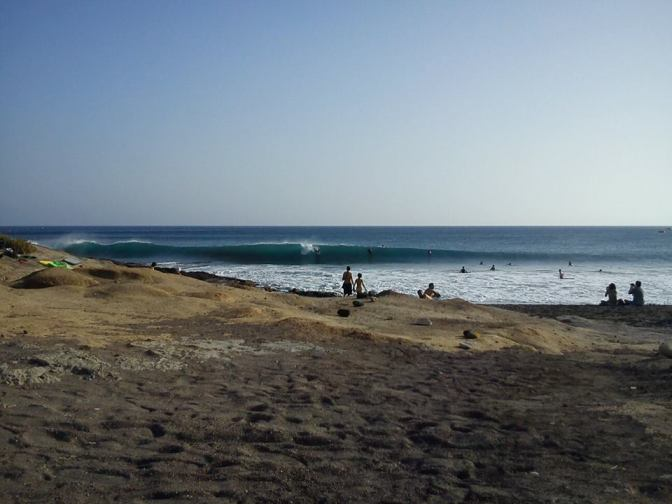#Tenerife 21-8-12 – #Bodyboard and #Surf in La Tejita